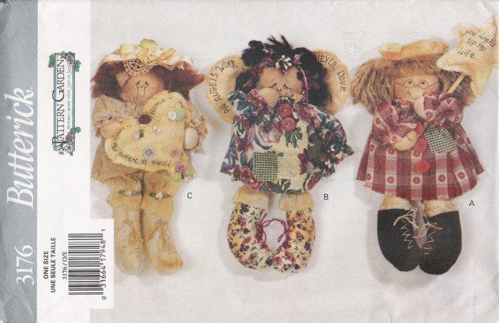 "12"" Dolls Sewing Pattern Butterick 3176 UNCUT"
