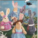 Stuffed Bunny Rabbit and Clothes Sewing Pattern Simplicity 7302 UNCUT