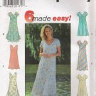 Misses' Dress Sewing Pattern Size 6-10 Simplicity 7964 UNCUT
