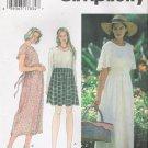 Misses' Dress Sewing Pattern Size XS-M Simplicity 9493 UNCUT
