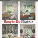 Window Treatments Sewing Pattern Butterick 6032 UNCUT