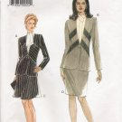 Misses' Jacket & Skirt Sewing Pattern Size 8-12 Vogue 9293 UNCUT