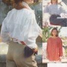 Misses' Shirt Sewing Pattern Size 8-12 Vogue 8118 UNCUT