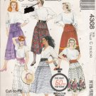 Misses&#39; Skirt & Sash Sewing Pattern Size 10-14 McCall&#39;s 4368 UNCUT