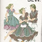 Misses' Square Dance Dress Sewing Pattern Size 6-12 Kwik Sew 1159 UNCUT