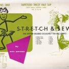 Vintage Sewing Pattern Taffetized Tricot Half Slip Hip Sizes 32, 36, 40 Stretch & Sew 2060 UNCUT