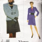 Misses' Jacket & Skirt Sewing Pattern by Yves Saint Laurent Size 18-22 Vogue 1630 UNCUT