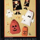 Halloween Goodie Bags Sewing Pattern by Jan Kornfeind UNCUT