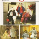 Decorative Stuffed Bunny & Cat Sewing Pattern Simplicity 9336 UNCUT