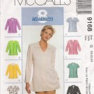 Misses' Blouse Sewing Pattern Size 20-24 McCall's 9168 UNCUT