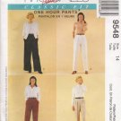 Misses' Pull-On Pants Sewing Pattern Size 14 McCall's 9548 UNCUT