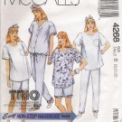 Maternity Jumpsuit Top Pants Shorts Sewing Pattern Size 8-12 McCall's 4268 UNCUT