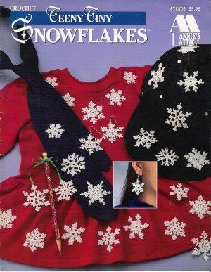 Crochet Teeny Tiny Snowflakes by Annie's Attic