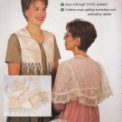 Women's Lace Tea Jacket & Vest Size S-XXXL Gooseberry Hill 229 UNCUT