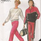 Misses' Jacket Top Pants Sewing Pattern Size 14-26 Simplicity New Look 6123 UNCUT