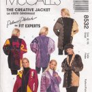Misses' Creative Jacket Sewing Pattern Size 8-10 McCall's 8532 UNCUT