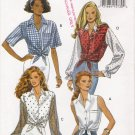 Misses' Top Sewing Pattern Size XS-M Butterick 6661 UNCUT