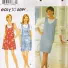 Misses' Jumper & Romper Sewing Pattern Size L-XL Simplicity 7108 UNCUT