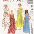Misses' Dress Sewing Pattern Size 8-10 McCalls 9373 UNCUT