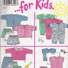 Infants' Tops Pants Shorts Jumpsuits Sewing Pattern Size NB-L Simplicity New Look 6397 UNCUT