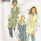 Misses' Vest Sewing Pattern Size 8-18 Simplicity New Look 6155 UNCUT