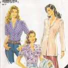 Misses' Blouse Sewing Pattern Size 12-24 Simplicity New Look 6191 UNCUT