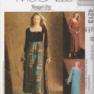 Misses' Empire Waist Dress Sewing Pattern Size 14-20 McCall's 4213 UNCUT