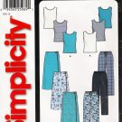 Misses' Skirt Pants Top Sewing Pattern Size 8-18 Simplicity 9781 UNCUT