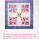 Beginner's Garden Quilt Pattern by Quilts Illustrated UNCUT
