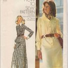 Vintage Sewing Pattern Misses' Shirt-Dress Size 12 Simplicity 5151 UNCUT