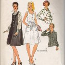 Vintage Sewing Pattern Misses' Tent Dress or Jumper & Blouse Size 18 Simplicity 6449 UNCUT