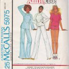 Vintage Sewing Pattern Misses' Top Pants Shorts Size 14-16 McCall's 5975 UNCUT