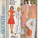 Vintage Sewing Pattern Misses' Jacket Tops Skirt Pants Scarf Size 10 McCall's 5007 UNCUT
