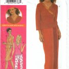 Misses' Wrap Top Skirt Pants Sewing Pattern Size 14-20 Simplicity 9619 UNCUT