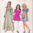 Vintage Sewing Pattern Girls' & Chubbies' Dress Size 8 Simplicity 6538 UNCUT