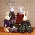 Sailor Bunnies & Friends For Tea Sewing Pattern Gooseberry Hill 135 UNCUT