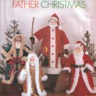 St. Nick Father Christmas Dolls Sewing Pattern Butterick 5863 UNCUT