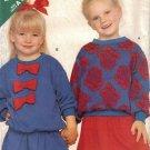 Children's Top & Skirt Sewing Pattern Size S-L Butterick 6909 UNCUT