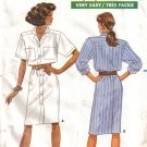 Misses' Dress Sewing Pattern Size 12-16 Butterick 6192 UNCUT