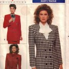 Misses' Jacket Sewing Pattern Size 12-16 Butterick 6664 UNCUT