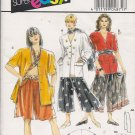 Misses' Jacket Pants Scarf Sewing Pattern Size 10-20 Burda 4871 UNCUT