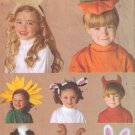 Dress Up Headbands Children's Halloween Costume Accessories Sewing Pattern Butterick 6304 UNCUT
