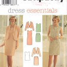 Misses' Jacket Dress Top Skirt Sewing Pattern Size 6-10 Simplicity 7115 UNCUT
