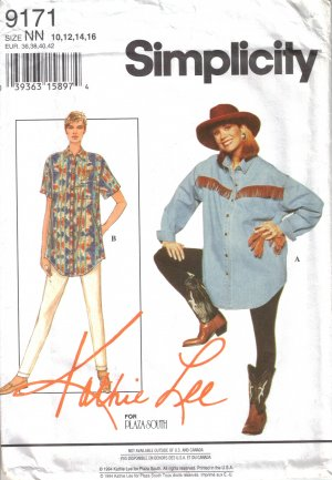 Maternity Separates Leggings & Shirt Sewing Pattern Size 10-16 Simplicity 9171 UNCUT
