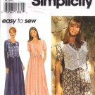 Misses' Dress Sewing Pattern Size XS-M Simplicity 9597 UNCUT