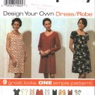 Misses' Dress Sewing Pattern Size 6-10 Simplicity 7192 UNCUT