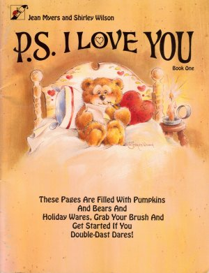 P.S. I Love You Tole Painting Book by Jean Myers & Shirley Wilson
