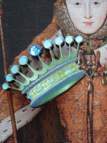 Pin Brooch, A Queen's Crown Pin