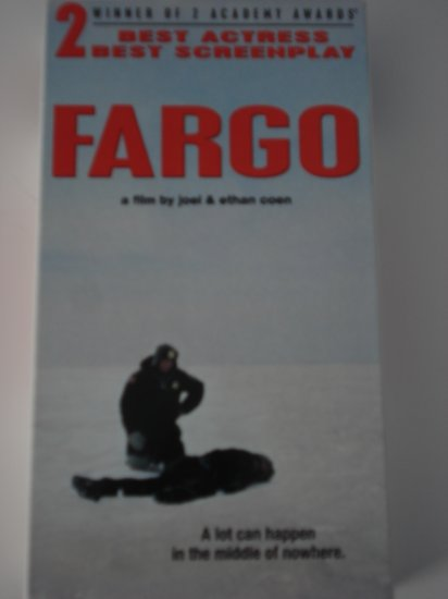 Vhs Movies Tapes Fargo With Frances McDormand & William H. Macy