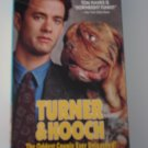 Vhs Tape Movie Turner & Hooch With Tom Hanks Comedy